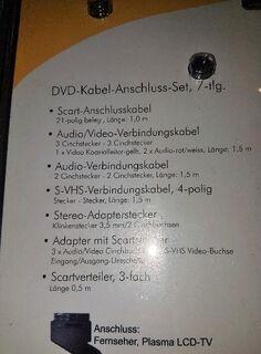 """Heitech + Zolid DVD Kabel Anschluss Set 7- teilig """" NEU """" - Verden (Aller)"""