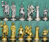 Schach Schachspiel Zinn Figuren Römer & Römer RZ ohne Brett