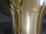 Melton Meisterwerk Tenorhorn, Goldmessing, 4 Ventile mit Neusilberkranz. Einzelstück. Neuware - Hagenburg