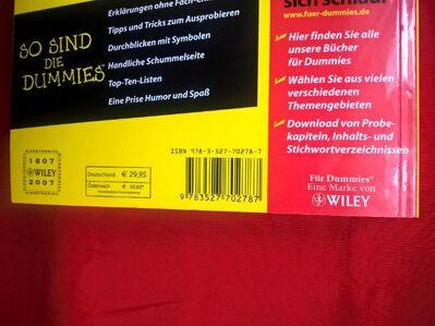 Lehrbuch WINDOWS VISTA für DUMMIES von Woody Leonhard - Aachen