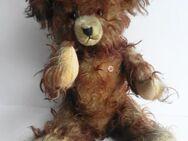 Antiker Teddybär der Marke Petz um 1950, von Anton Kiesewetter, Spielwarenfabrik Coburg - Königsbach-Stein