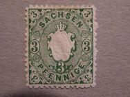 AD-Sachsen  3 Pfennig 1863-67,  MI:DE 14,Lot 665