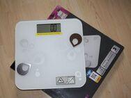 Körperfettwaage Personenwaage Digital Waage Glaswaage Digitale Analysewaage Körperwaage Badezimmer bis 180kg - Sonneberg