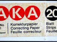 Korrektur-Papier (ähnlich Tipp-Ex) von Uhu - Kiel Ellerbek