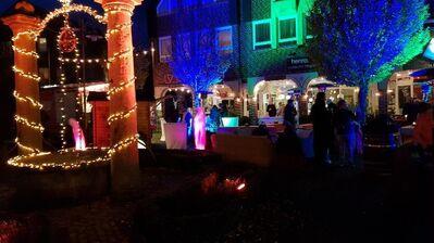 Lichterfest mit kunsthandwerklichem Ambiente in Lathen/Ems 14.11.2020 - Weener