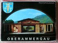Andenkenmappe Oberammergau, alt und farbig - Niederfischbach