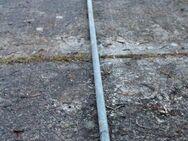 Stahlträger, Eisen, verchromtes Rundrohr; 403cm lang, 27mm Durchmesser - Bad Belzig