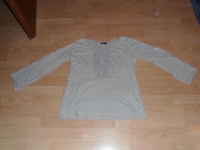 Langarmshirt von Colours of the world, beige, Gr. 40/42 - Bad Harzburg