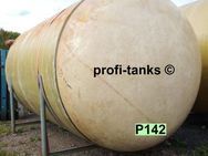 P142 gebrauchter 20.000 L Polyestertank GFK Wassertank Futtermitteltank Regenauffangtank Lagertank Flüssigfutter Rapsöl Molke Sickersaft Melasse Gülle - Nordhorn
