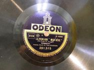 Alte Odeon Schellackplatte, Roberta / Je ne T´aime plus, La Pension Mon Rêve - Zeuthen