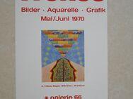 8 Plakate 1969-1972, Baukhage, Siepmann, Baumann, Trökes, Donaldson, Brune, Rus - Coesfeld