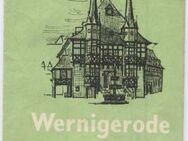 Wernigerode Historisch - Stadtplan