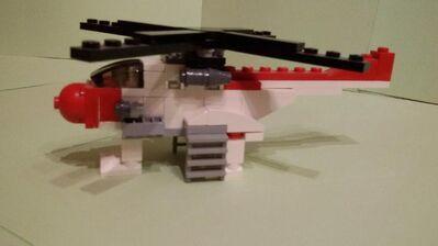 LEGO Hubschrauber - Hamburg