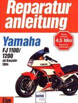 Reparaturanleitung Yamaha FJ 1100 + 1200 ab 1984