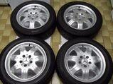 gepflegte SLK Mercedes Benz 7 Speichen Leichtschmiedefelgen 16 Zoll ( 7 x 16 ET 34 mm )