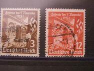 DR-12 Jahrestag,1935,Mi.Nr.598-99,Lot 382