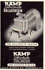 Alex Kamp & Co - Nürnberg - Herren-Parfum Werbeanzeige 1940