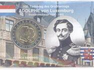 2 Euro,Luxemburg 2005 Gedenkmünze Henri&Adolphe in Coincard,Lot 707 - Reinheim