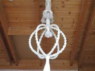 Makramee Hänge-Ampel (Hand gemacht) für Schalen groß - Weichs