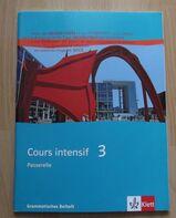 Cours intensif 3 (Grammatisches Beiheft)