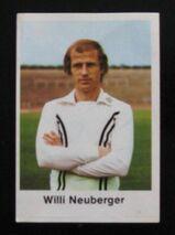 Willi Neuberger - Eintracht Frankfurt ( Fussball 1977/78 )