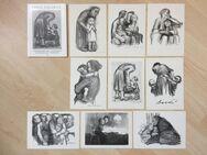Postkarten mit Radierungen u. Lithographien von Käthe Kollwitz - Bremen