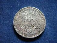 3 Mark Kaiserreich Hansestadt Hamburg,1911-J,Lot 828 - Reinheim