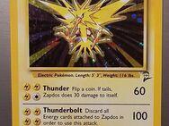 Pokémon Karte Zapdos Holo von 1999-2000 perfekter Zustand- Rarität - Essen