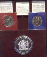 Olympiamünzen Spiele 1984 Los Angeles und Sarajevo, PP, -SYMPATHIELÄNDER -.