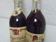 Rarität-Ungarische Weine, 2 Flaschen 0,5 Liter,Orig. ungeöffnet Tokaji Aszu, 3 Puttonyos, Anno1968 - Waldesch