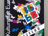 Flyer Berlin Kulturhauptstadt Europas 1988