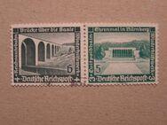 DR Winterhilfswerk mit 2x2 Briefmarken 1936,Mi:Nr.636-37 ,Lot 370