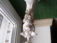 Arol Norway Keramik Deko Figur Dame mit Zopf 30 cm weiß Handarbeit Öllampe? 29,- - Flensburg
