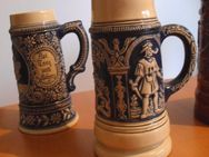 2 rustikale Krüge aus Keramik - Waldheim