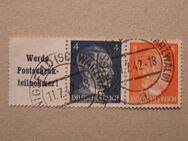DR-A.H.zusammen druck 11.07.1942,  Mi:Nr.783+786 ,Lot 372