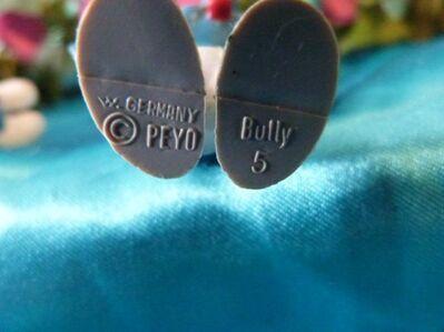 2 Schlümpfe Bully, Peyo / Böser Schlumpf 20084, Hanstandschlumpf 20084 / Smurf - Zeuthen