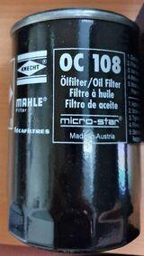 "Mahle Knecht OC 108 Öllfilter passend für Ford + VW ""NEU"""
