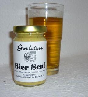 Biker Senf  -  pikant m. Chili und Bourbon - Route 66 - Görlitz