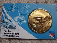 Münze Skispringen Vancouver 2010 Olympic Games - Rees Zentrum