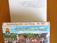 Farb-Leporello Schwäbisch Hall - Münster