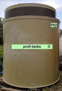 P82 gebrauchter 12.000L Polypropylen-Tank doppelwandig Flachboden guter Zustand Lagerbehälter Wassertank Futtermitteltank Rapsöltank Zisterne Regenauffangtank - Nordhorn
