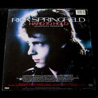 Rick Springfield - Hard To Hold (Soundtrack - LP) - Niddatal Zentrum