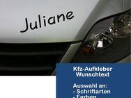 Kfz- Autoaufkleber / Car Tattoo / Sticker / Wunschtext / 20 cm lang / Farbauswahl - Vöhl