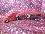Großer Modelltruck Coca Cola / XL Werbetruck ohne Licht/ teilweise Metall