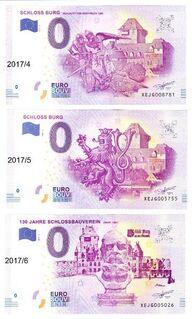 0-Euro Schloss Burg - Friedrichsdorf