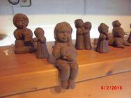 Julia Limpke Figuren Kinder Keramik Signiert Kunsthandwerk Handarbeit - Bottrop