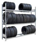 Großfach Reifenregal Räderregal Fachlast 400 kg NEU für Firmen