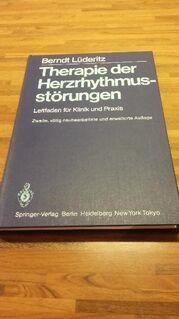 Therapie der Herzrhythmusstörungen. Leitfaden für Klinik und Praxis. Springer Verlag - 1984. Berndt Lüderitz (Autor) - Rosenheim