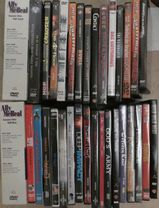 dvd, Buffy, Ally Mc Beal, Wild wild west, Quatermain,Pearl Harbor