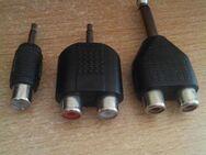 5 x Stück Deetech Y-Adapter 2 x Cinch Buchse 3 x Klinke 3,5 mm Stereo+6,3 mm - Verden (Aller) Zentrum
